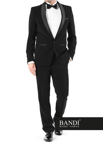 Dress code Black Tie – pánský smoking BANDI