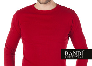 Pánský svetr BANDI s kulatým výstřihem